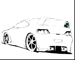 Free Cars Coloring Pages Pdf 3 Colouring 2 Car Sports Road Likable