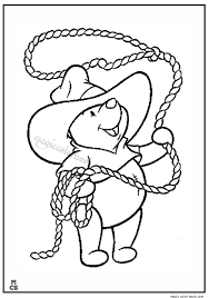 Small Picture Cowboy winne pooh rodeo coloring pages