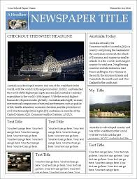 Old Newspaper Article Template Microsoft Word 2013 Newspaper Template Anekanta Info