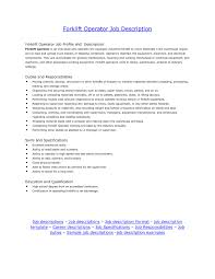 Certified Forklift Operator Cover Letter Essays On Education