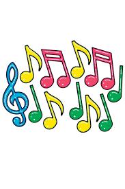 D Corations 12 Notes Musique Couleurs Fiesta Magic