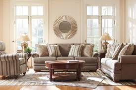 Living Room Furniture Lazy Boy La Z Boy Brennan Traditional Loveseat With Comfort Core Cushions