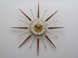 nelson sunburst clock sunburst clock gold starburst clock