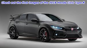2018 honda civic si. delighful 2018 check out the first images of 2018 honda civic type r and si