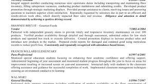 Resume Resume Template Awesome Resume Objectives Awesome Resume