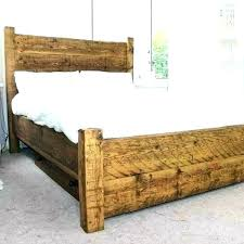 reclaimed wood bed frame – trustingpeace.org