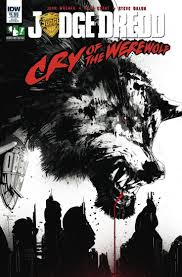 17 best images about best judge dredd sylvester judge dredd cry of the werewolf subscription cover fresh comics