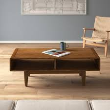 Tables are available in variety of designs and styles. Modern Wood Coffee Tables Allmodern