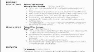 Resume Store Manager Examples Retail Manager Resume Examples New