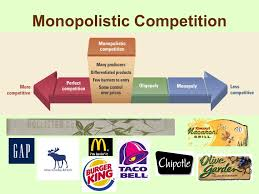 market structures analyzing the levels of competition in various  14 monopolistic competition