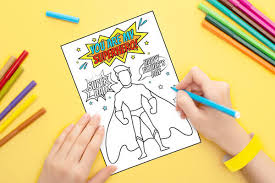 Use these father's day coloring pages to help show this father's day banner would also be a lot of fun for dad or grandpa on father's day. Father S Day Superhero Card Free Printable The Printables Fairy