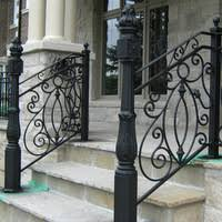 exterior wrought iron stair railings. Simple Railings Custom Iron Stair Railings And Exterior Wrought
