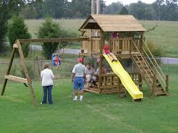 diy playhouse swing set plans plans free playhouse swing set plans