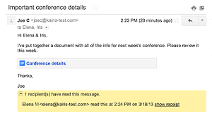 Confirm Of Receipt How To Request A Read Receipt In Gmail