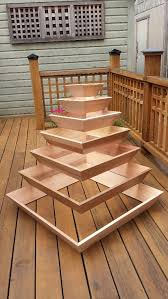 world full with crafts pyramid planter