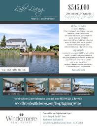 flyer lakefront living marysville real estate flyer lakefront living marysville real estate