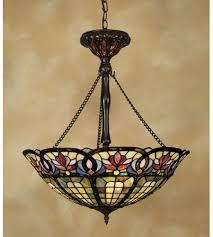 vintage ceiling lighting. Quoizel TF1438VB Tiffany 3 Light 22 Inch Vintage Bronze Pendant Ceiling Light, Naturals Lighting