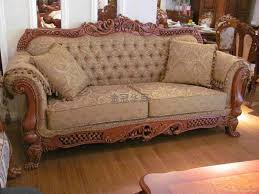 wooden sofa set design and