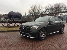 Interior cargo volume seats folded: Test Drive 2020 Mercedes Benz Amg Glc 63 S Coupe Feels Like A Spaceship On Wheels Chattanooga Times Free Press