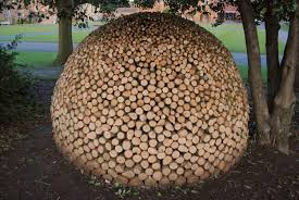 ... Attractive firewood storage ideas and yard decorations