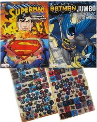 7 add hozzá a kedvenceidhez! Amazon Com Batman Vs Superman Coloring And Activity Books Set 2 Jumbo Activity And Coloring Books And Over 270 Stickers Toys Games