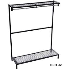 Free Standing Coat Rack With Shelf Freestanding Garment Hanging Unit With Mesh Shoe Rack Top Shelf 31