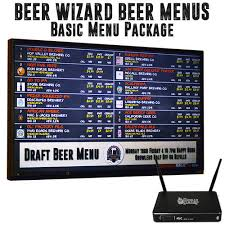 The Beer Wizard Beer Menu | The Growler Station | Fresh Craft Beer To Go