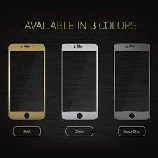 iphone 6 gold. iphone 6/6s plus screenmate max tempered glass (gold) iphone 6 gold