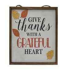 simply autumn give thanks 3d leaf wall decor