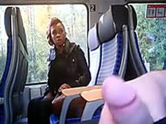 black girl watches him masturbate on the train public porn at black girl watches him masturbate on the train