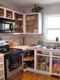 For Remodeling Kitchen Furniture Wood Reface Cabinets With Floating Shelves And Glass