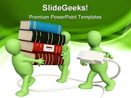 Education Background For Powerpoint Book Powerpoint Templates Slides And Graphics