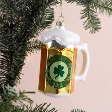 Lustige Weihnachtskugel Bierglas