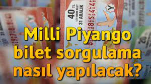 Milli Piyango sonuçları nasıl öğrenilir? Bilet sorgulama nasıl yapılır? -  Son Dakika Flaş Haberler