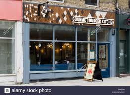 Gourmet Burger Kitchen Covent Garden London Burger Stock Photos London Burger Stock Images Alamy