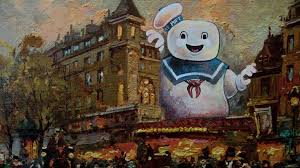 the stay puft marshmallow man from ghostbusters