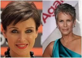 Trendy účesy Pro Krátké Vlasy 2016 Fotografie Pro ženy Nad 50 Let
