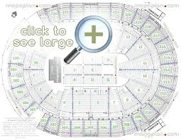 â 24 staples center concert seating chart with seat numbers and rows