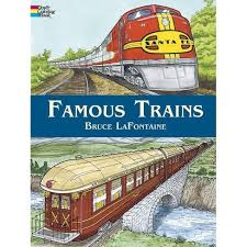 Full fare will be credited back into users accounts from. Famous Trains Dover Coloring Books By Bruce Lafontaine Paperback Target