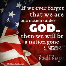 Christian Military Quotes Best of Ronald Reagon Quote Pictures Ronald Reagan Quote One Nation