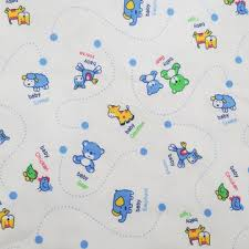China <b>Hot sale</b> cartoon pattern printing <b>cotton</b> knitted fabric for baby ...