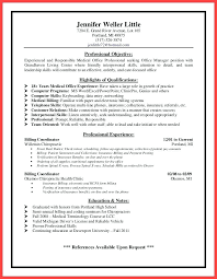sample resume for office manager position resume medical office manager sample resume