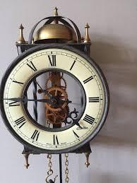 haller wall clock tempus fugit clock