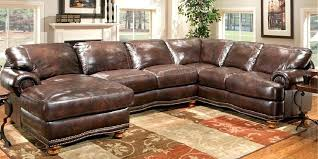 sectional sofa brown nailhead couch u love custom made in furniture sectionals with