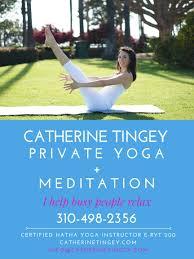 contact private yoga santa monica bwood pacific palisades bel air venice