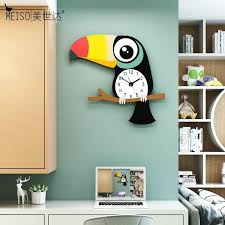 toucan cartoon quartz digital battery
