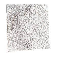 white carved wooden wall panel rs 1800