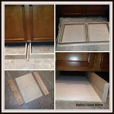 under cabinet drawers, diy, how to, kitchen cabinets, kitchen design,  woodworking