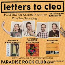 Letters To Cleo Poster Residency