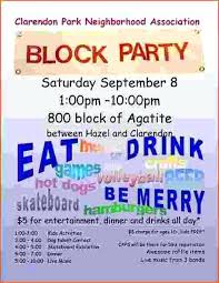 Block Party Flyer Free Block Party Flyer Template How To Throw A Printable